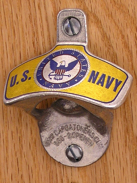 US Navy Wall-Mount Bottle Opener