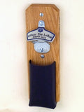 Personalized Police Department Wall Bottle Opener