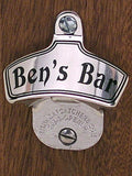 Personalized Stainless Steel wall mount bottle opener