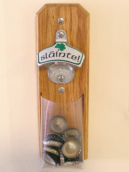 Irish Wall Mount Bottle Opener