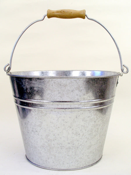 Plain Galvanized Beer and Ice Bucket