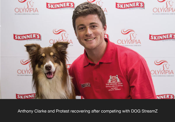 Anthony Clarke and Protest Competing sponsored by DOG Streamz