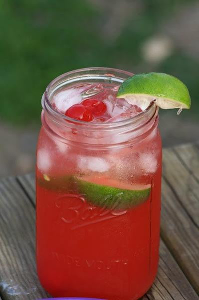 Southern Cherry Limeade (Low Nic) - Texas Rebel Juice