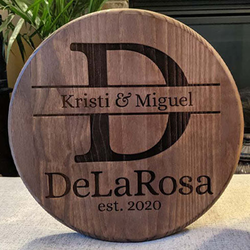 Special Date Wood Signs