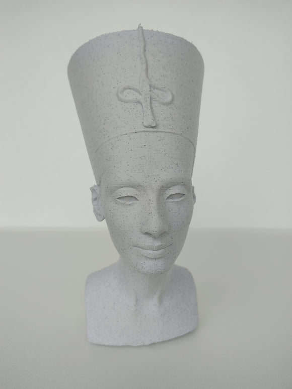 Bust of Nefertiti - The Egyptian Sun Queen