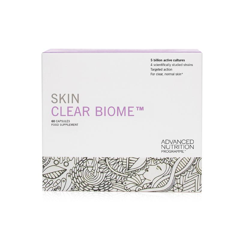 Skin Clear Biome 60 Capsules Advanced Nutrition Programme
