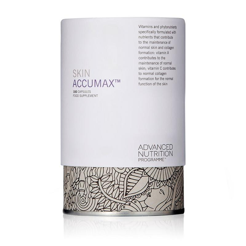 Skin Accumax Problematic Skin 180 Capsules Advanced Nutrition Programme