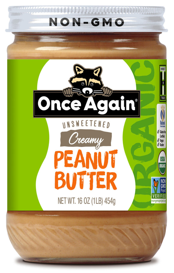 Peanut Butter - Organic - Once Again