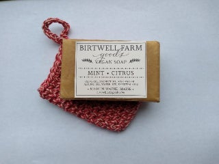 Soap Sock and Birtwell Soap Bar