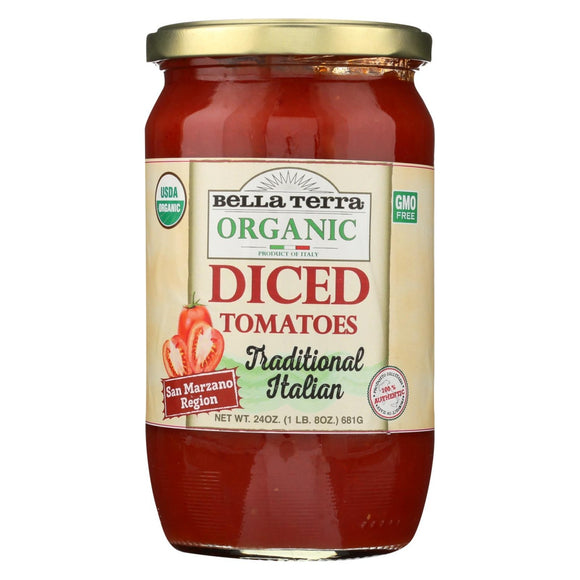 Tomatoes - Diced, Crushed - Organic & Natural