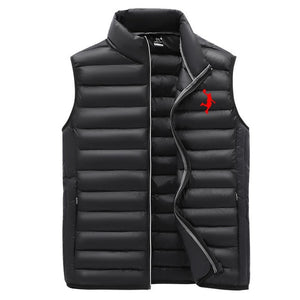 Brand Jordan23 clothing vest jacket men's autumn and winter new warm sleeveless jacket men's winter casual vest men's vest M-3XL