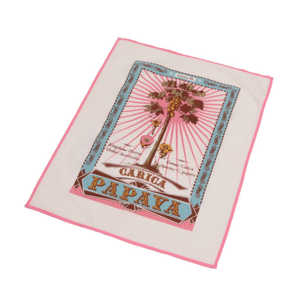 Botanica tea towel- Papaya