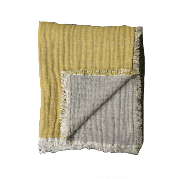 Cozi Throw - Goldenrod