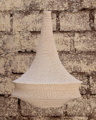 Joosh Crochet Pendant Light - Large (Beige)