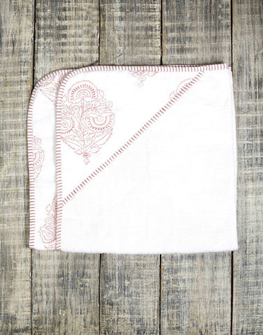 Malabar Pink City Baby Towel