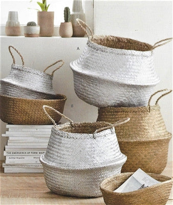 Seagrass Convertible Baskets