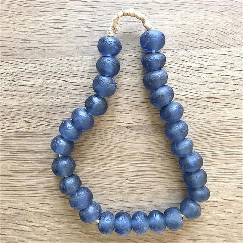 Recycled Beads (blue)