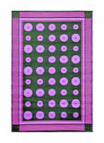 Dots- Berry: 4X6 Indoor/outdoor floor mat