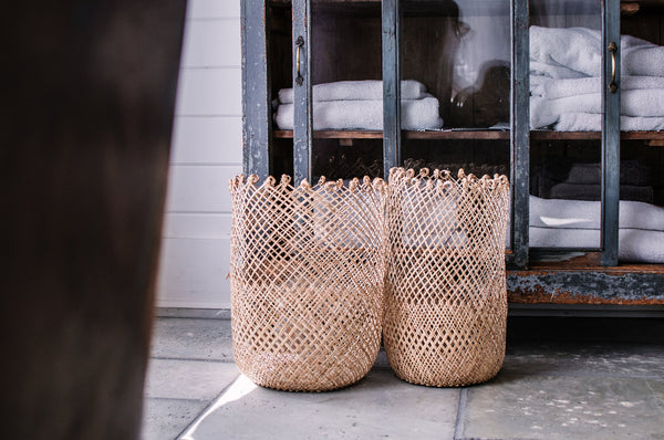 Fisherman Basket as Pendant Light