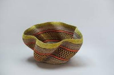 Pakurigo Wave basket from Ghana, West Africa