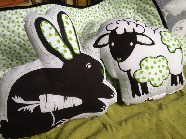 Black and White Baby Pillows