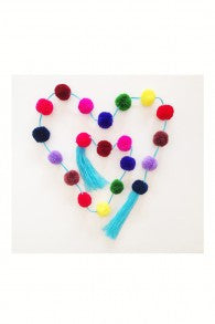 Pom Pom Strands - Assorted Colors