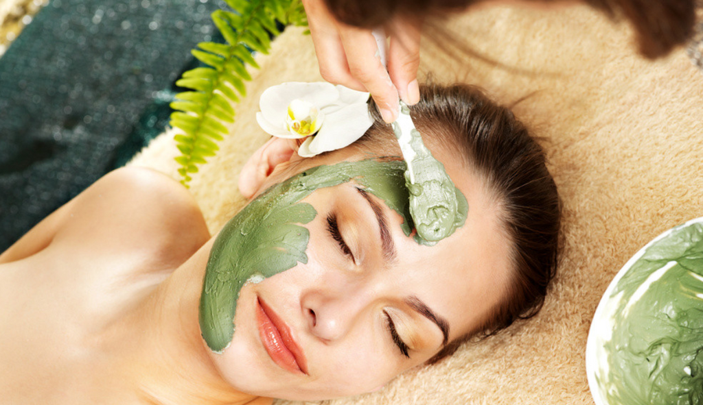 how to apply clay mask