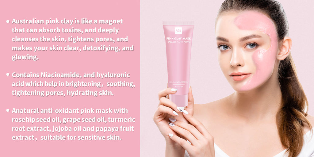 benefits of pink clay mask