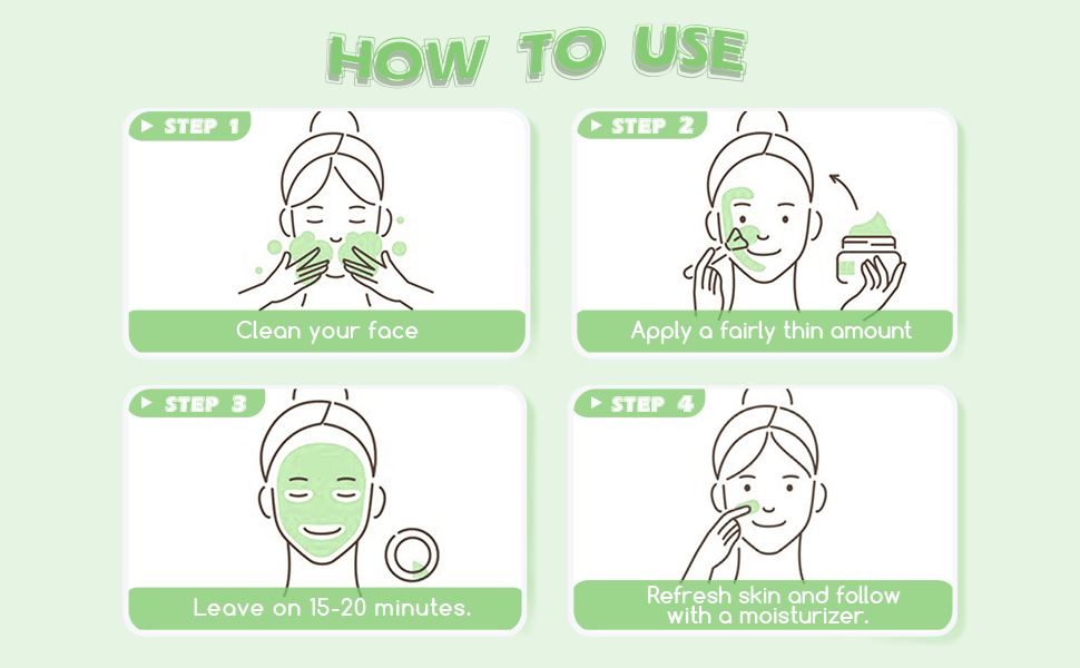how to use avocado mask