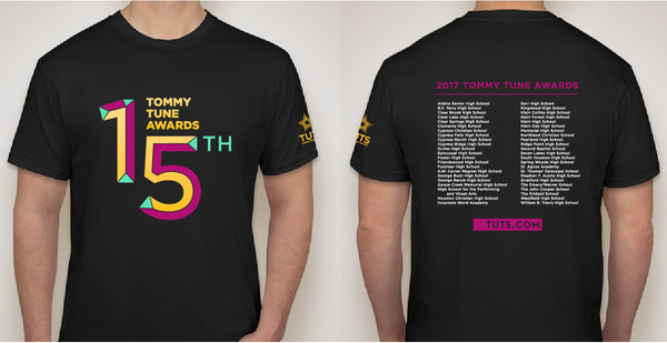 Tommy Tune Awards 15th Anniversary Tee Shirt