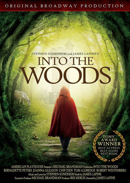 Into the Woods Broadway DVD