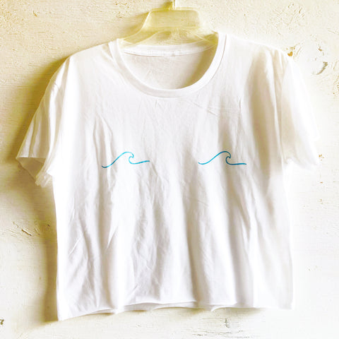 Waves Crop Tee