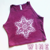 Hand-Dyed OM Soul Yoga Crops