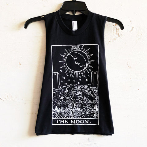 Tarot Card Muscle Tanks