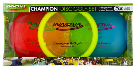 Innova Champion Disc Golf Set (3 Discs)