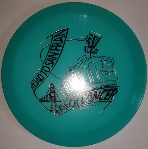 Innova Firebird (Flat Top) Coloured Glow Champion - JMac Cancer Fundraiser