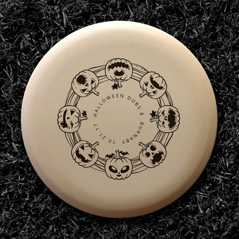 Innova Aviar DX (Black) - Halloween Glow Dubs 8