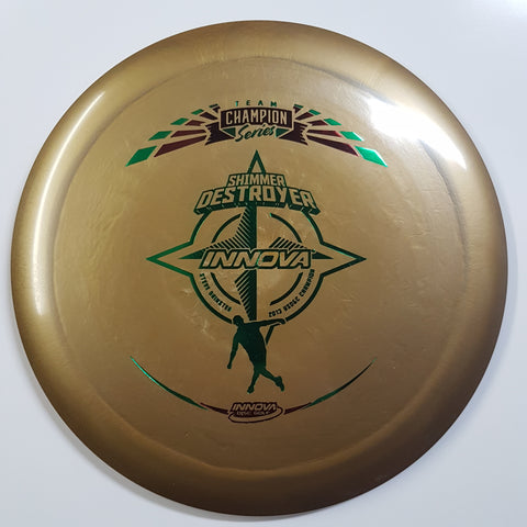 Innova Destroyer Shimmer Star - Steve Brinster Tour Series 2019