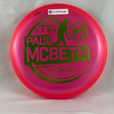 Discraft Luna Z - Paul McBeth Tour Series 2021