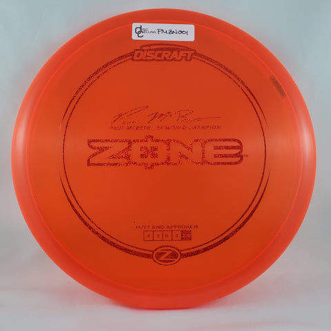 Discraft Zone Z - Paul McBeth Signature Series