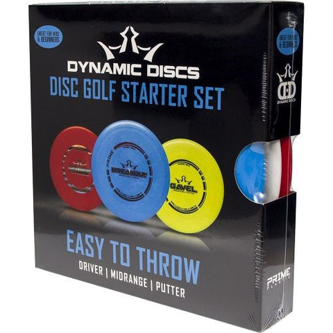 "Dynamic Prime ""Easy to Throw"" Disc Golf Set (3 Discs)"