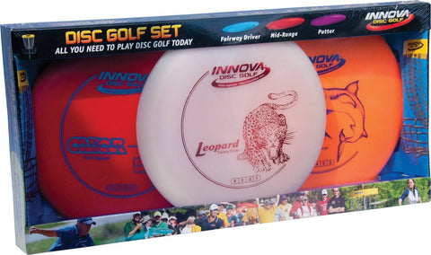 Innova DX Disc Golf Set (3 Discs) - 150 Class