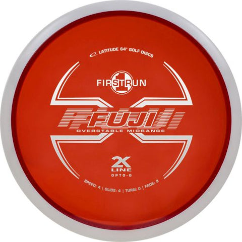 Latitude 64 Fuji 2K Line Opto-G - First Run