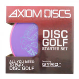 Axiom Premium Disc Golf Starter Set (3 Discs)