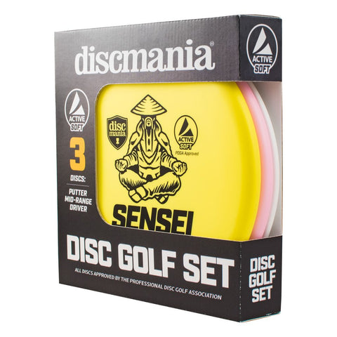 Discmania Active Soft Disc Golf Starter Set (3 Discs) - 150 Class