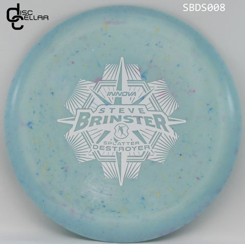 Innova Destroyer Star Splatter - Steve Brinster tour series 2017