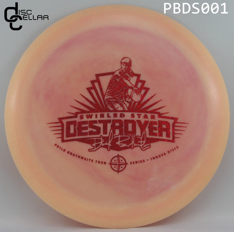 Innova Destroyer Swirled Star - Philo Brathwaite tour series 2017