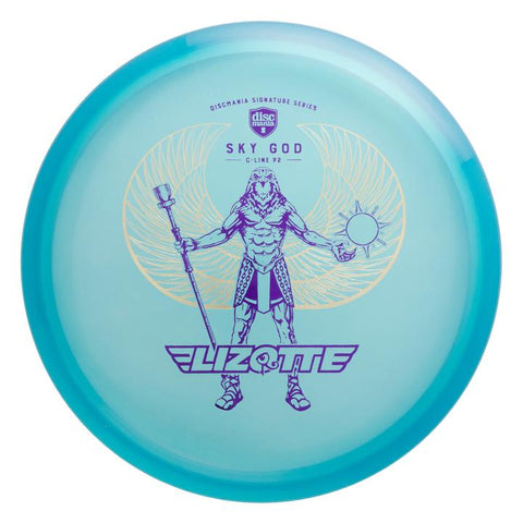 "Discmania P2 C-Line - Simon Lizotte ""Golden Wings Sky God"""