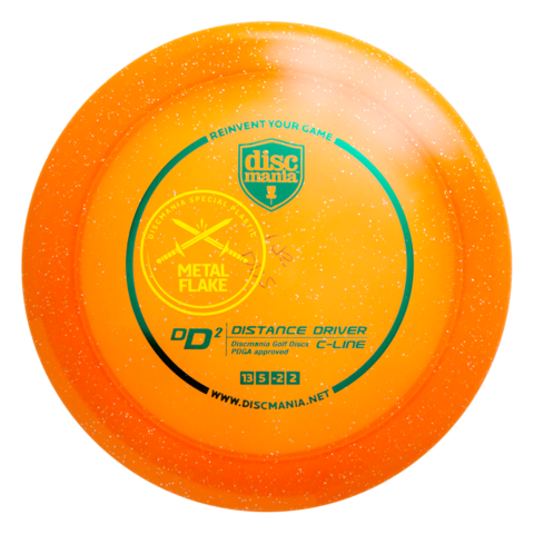 Discmania DD2 (Frenzy) C-Line Metal Flake