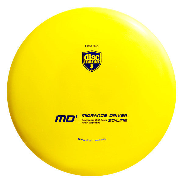 Discmania MD1 S-Line/SG-Line - First Run